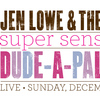Jen Lowe and the Super Sensitive Dude - A Palooza - Live at Telefunken Studios