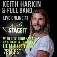 Keith Harkin & Full Band LIVE in LA.