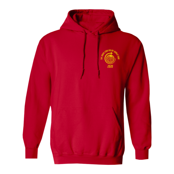 Red Online World Tour Hoodie