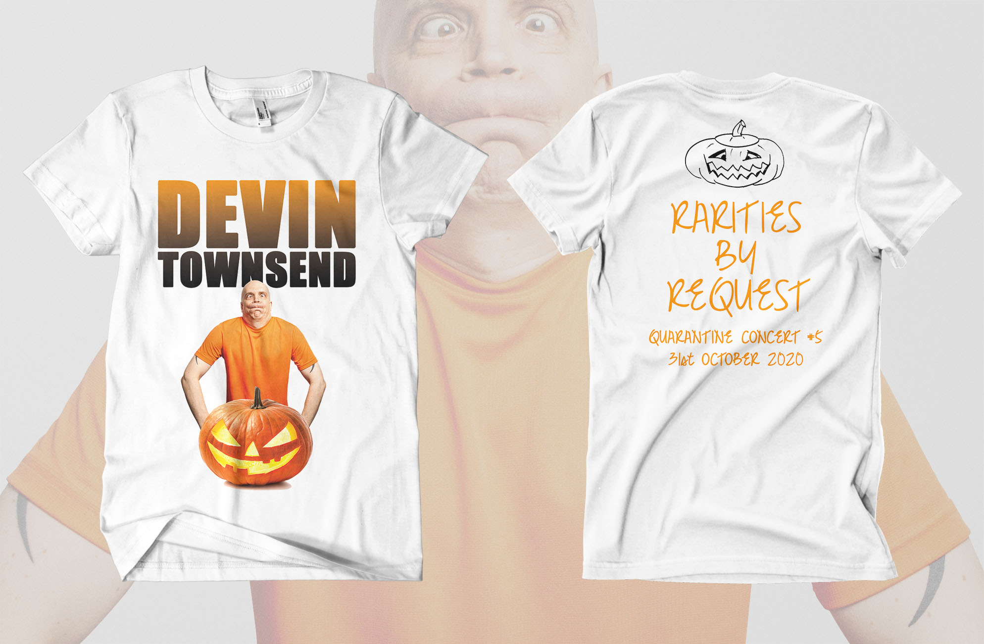 Dev halloween show shirt visual