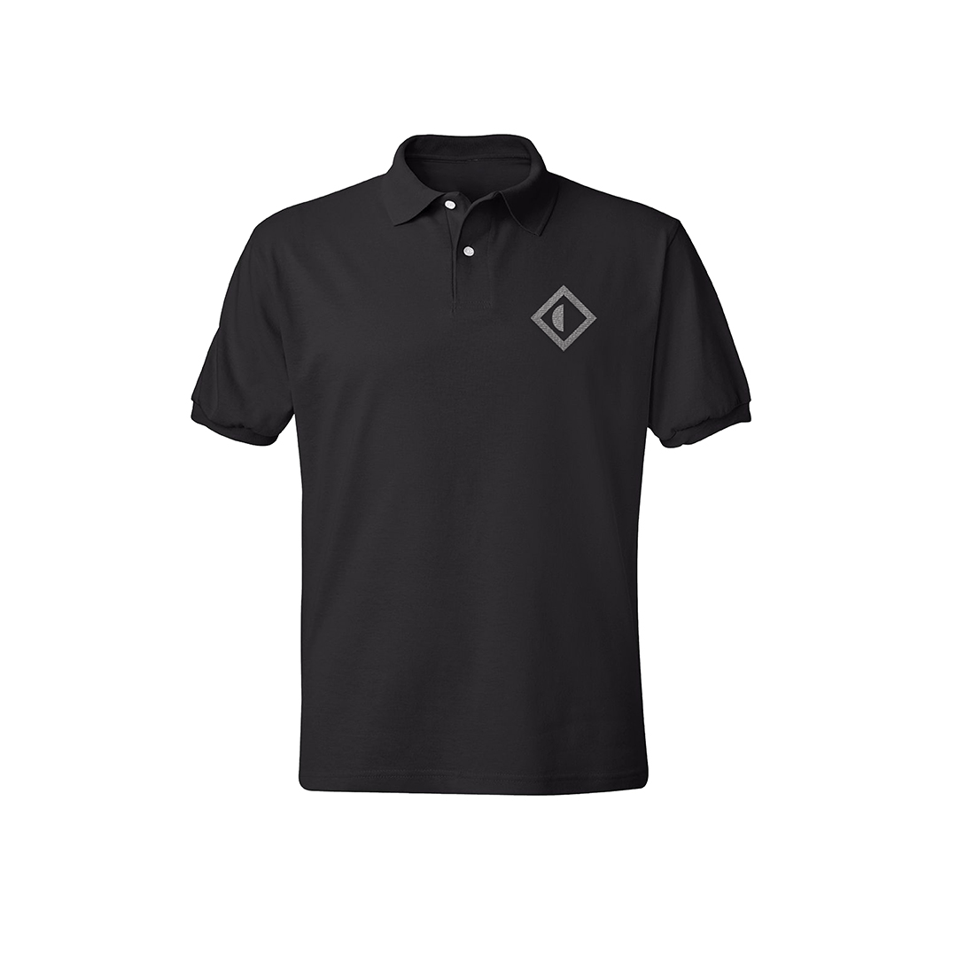 Papadosio black golf shirt