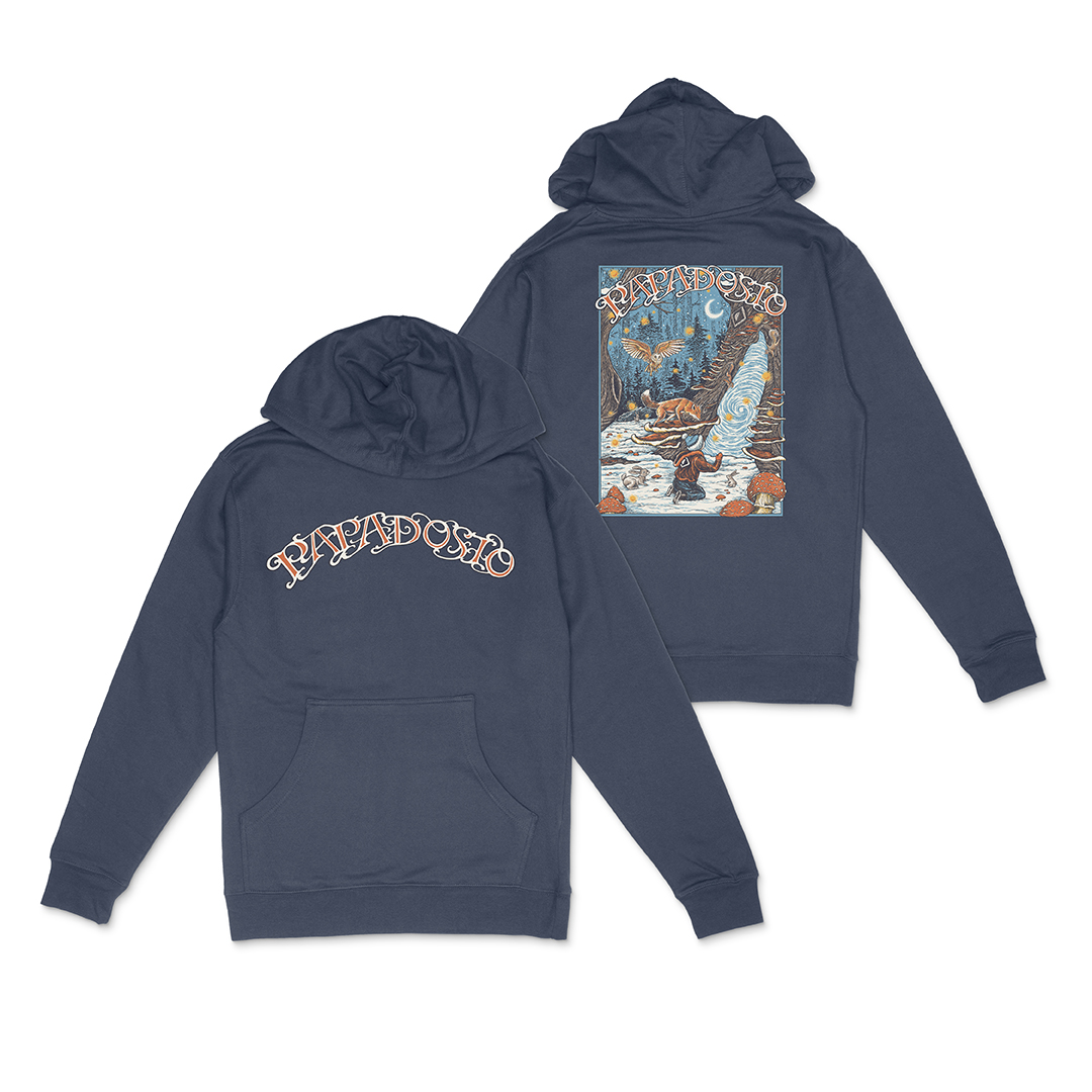 Papadosio holidosio 2020 event pullover hoodie navy