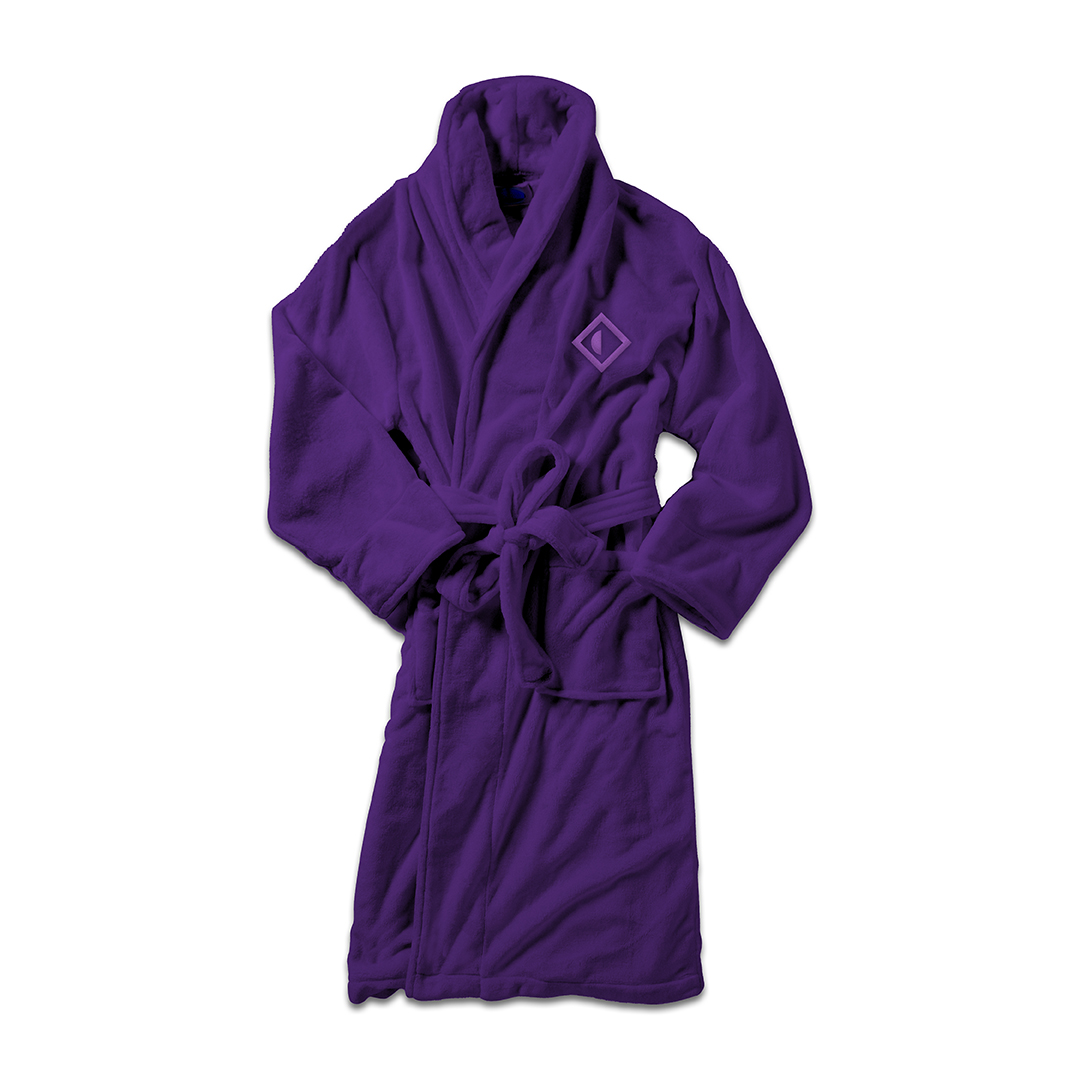 Papadosio purple logo robe