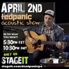 Ted Panic Acoustic Set Rd 2!