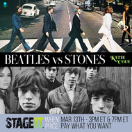 Beatles vs Stones early show
