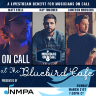 Ray Fulcher, Matt Stell & Jameson Rodgers - Live from The Bluebird Cafe, $20.00