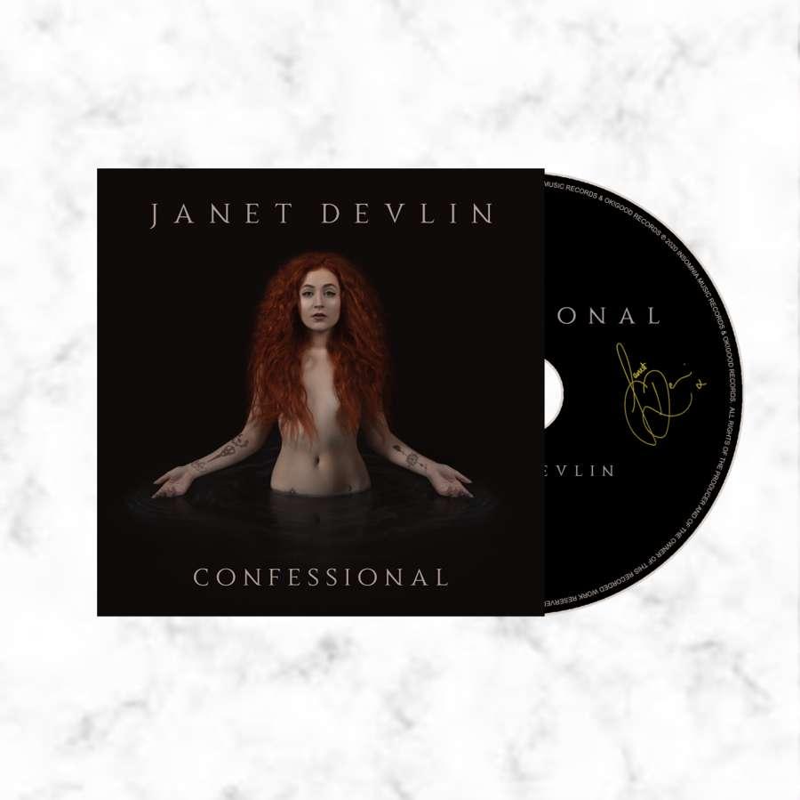 Confessional cd album signed